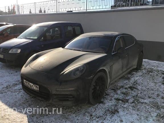Порше Панамера 4S перегон в Казахстан